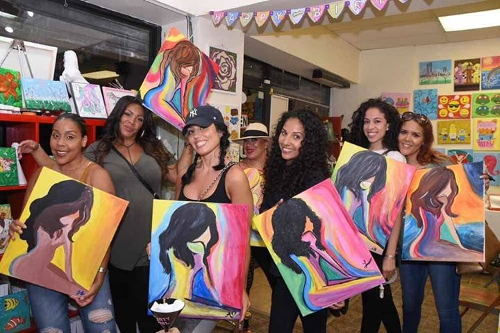 soca n paint caribbean sip paint with a twist at the