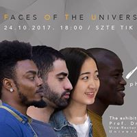 Faces of the University of Szeged  photography exhibition