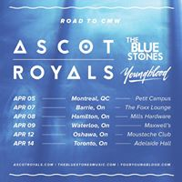 Road To CMW at The Foxx Featuring Ascot Royals &amp More April 7th