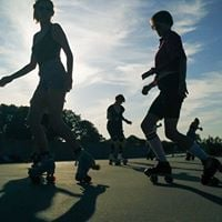 Rhythm Roller Skating - Dans p rulleskjter - Session 8