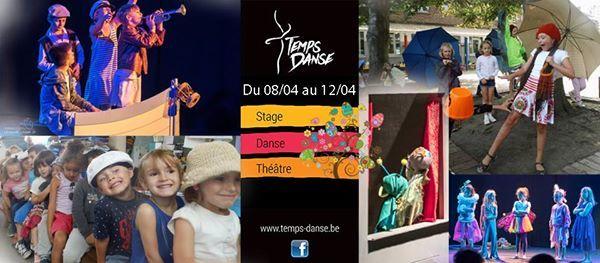 Stage enfant danse et thtre Pques