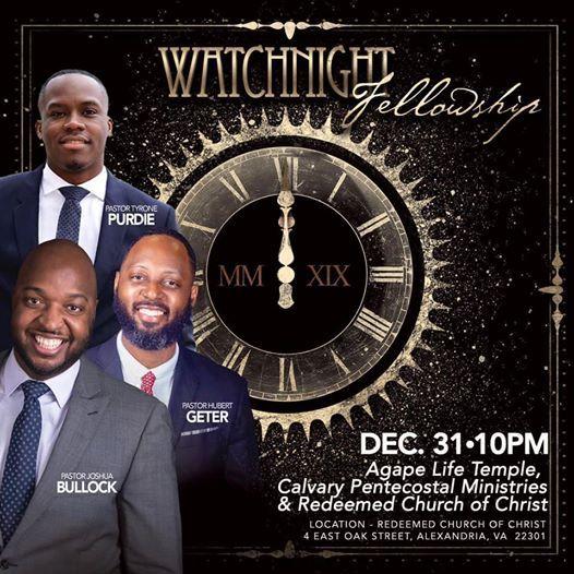 Watch-night Fellowship at Redeemed Church of Christ4 E Oak