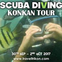 Trikon 550 Scuba Diving Special Konkan Tour