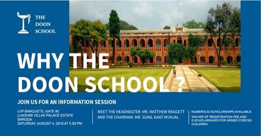 Why The Doon School -An Information Session At Baroda