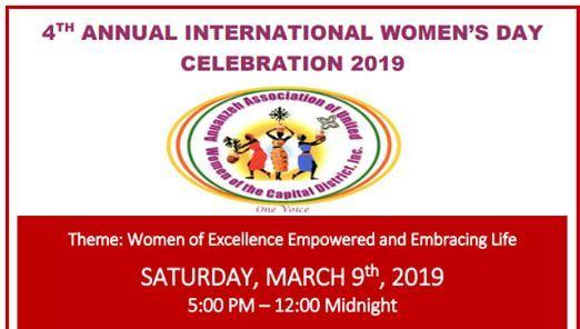 Anuanzehs International Womens Day Celebration 2019
