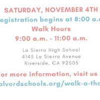ALVORD CARES WALKATHON AND AWARENESS