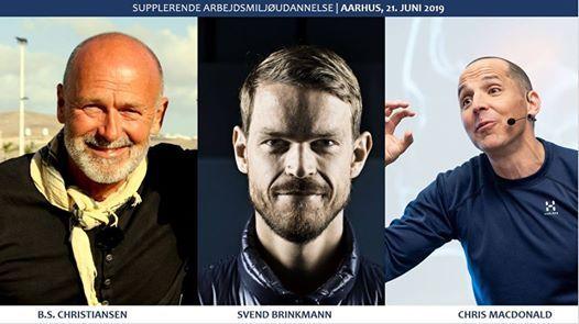 Temadag med Svend Brinkmann B.S.Christiansen & Chris MacDonald