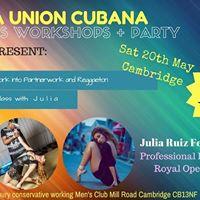 La Union Cubana workshops in Cambridge