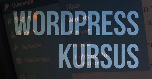 WordPress kursus for begyndere