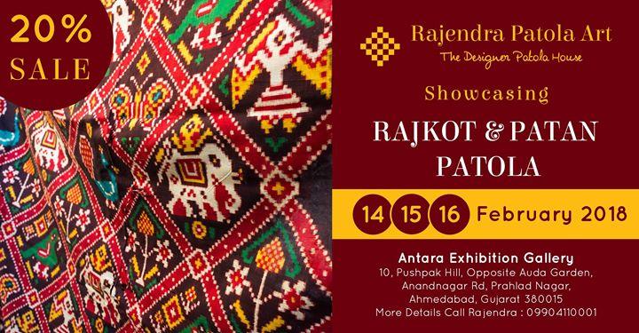 Hand Woven Rajkot & Patan Patola Sale