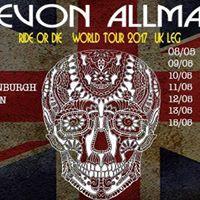 Devon Allman Band The Octagon Keighley UK