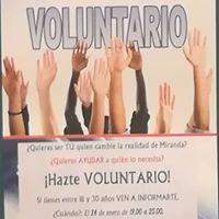 Charla voluntariado joven Junta de Castilla y Len