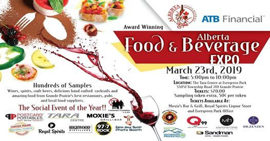 ATB Financial Alberta Food and Beverage Expo - Grande Prairie