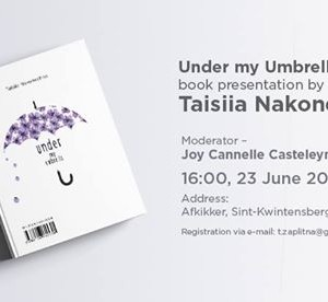 Under my Umbrella book presentation by Taisiia Nakonechna