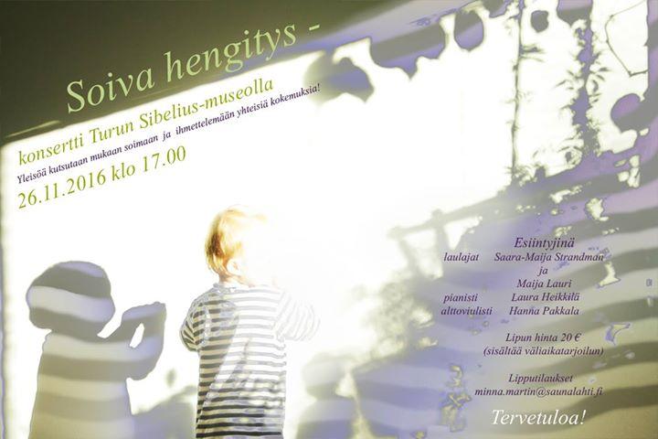 Soiva hengitys -konsertti
