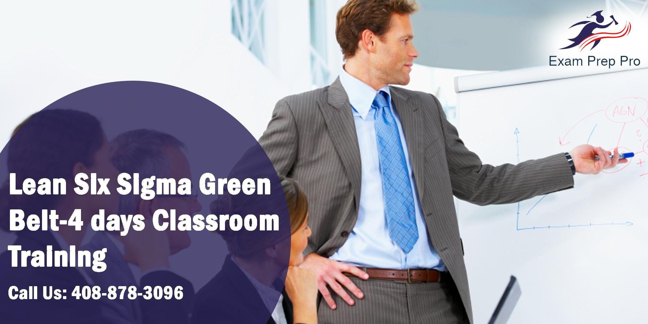 Lean Six Sigma Green Belt(LSSGB)- 4 days Classroom Training PittsburghPA