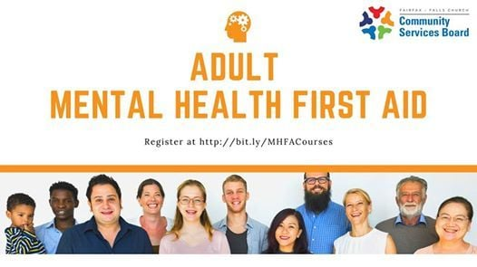 Mental Health First Aid English At South County Health Center