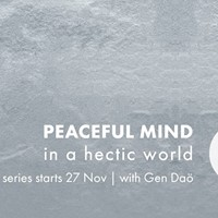 Meditation classes - Peaceful mind in a hectic world (Mondays)