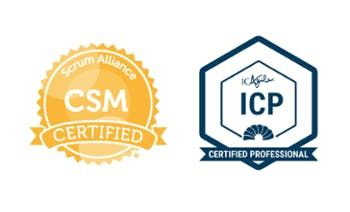 Certified ScrumMaster (CSM)  ICAgile Certified Professional (ICP)