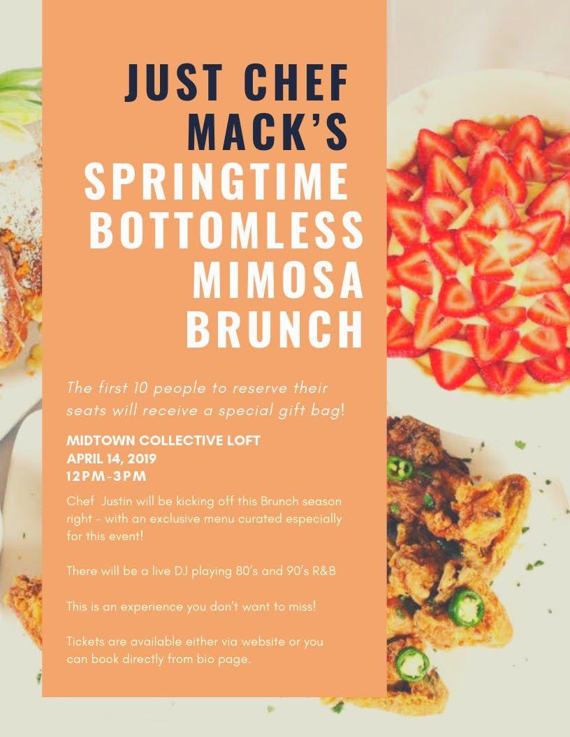 Just Chef Macks Spring Time Brunch Event