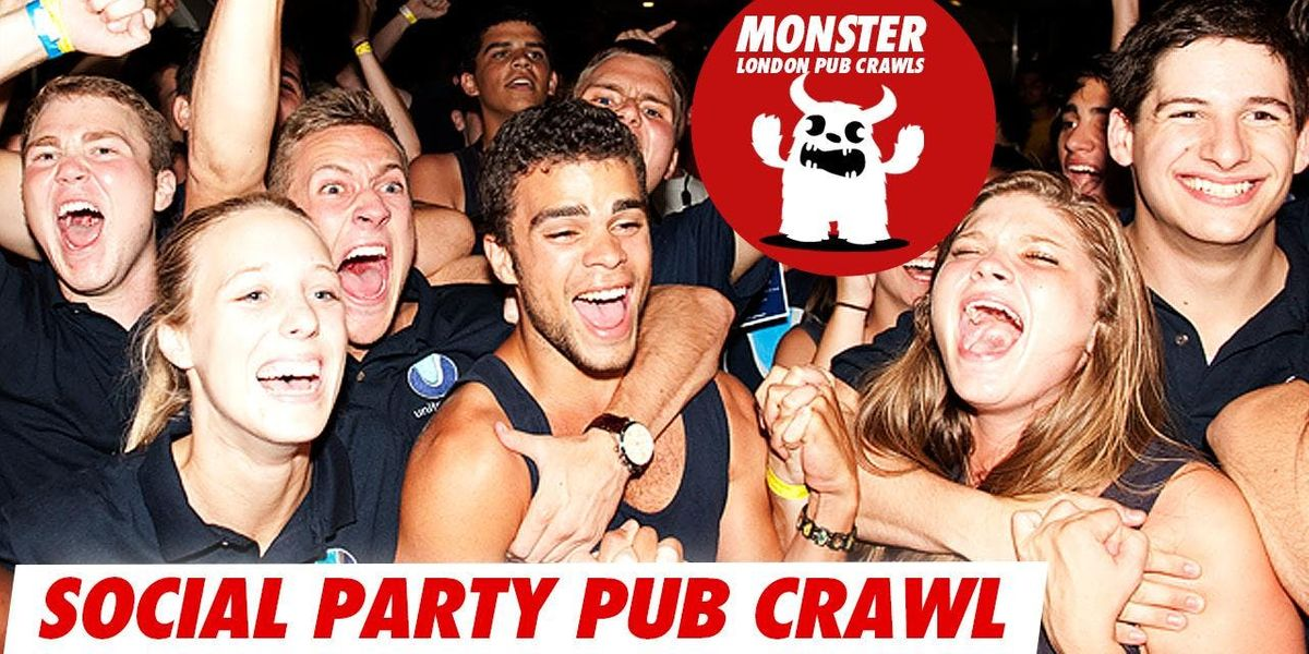 Social party pub crawl on Sat 30 Mar