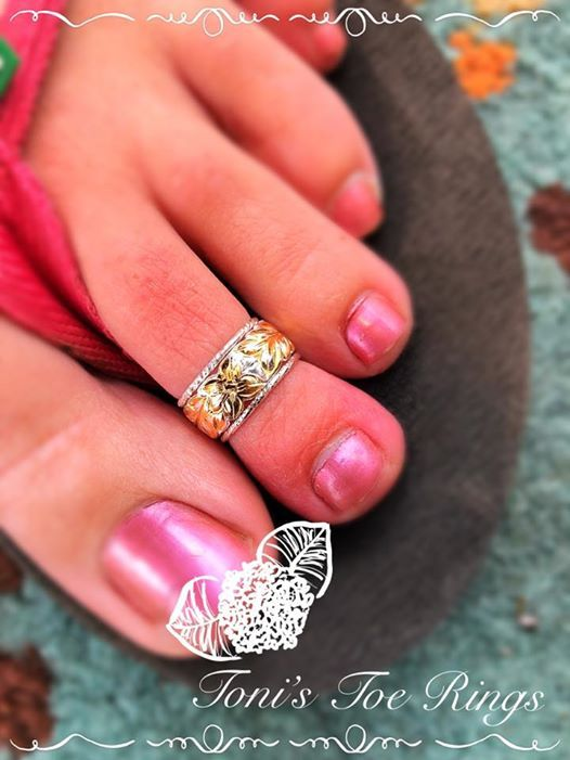 Step into Spring Madness with Tonis Toe Rings