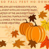 USO Fall Fest Ho-Down