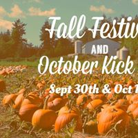 Fall Festival and October Kick Off