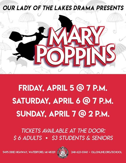 OLL Drama Presents Mary Poppins JR