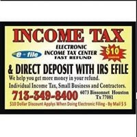 Income TAX Filing Center