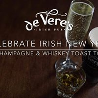 Celebrate New Years Early at de Veres Irish Pub