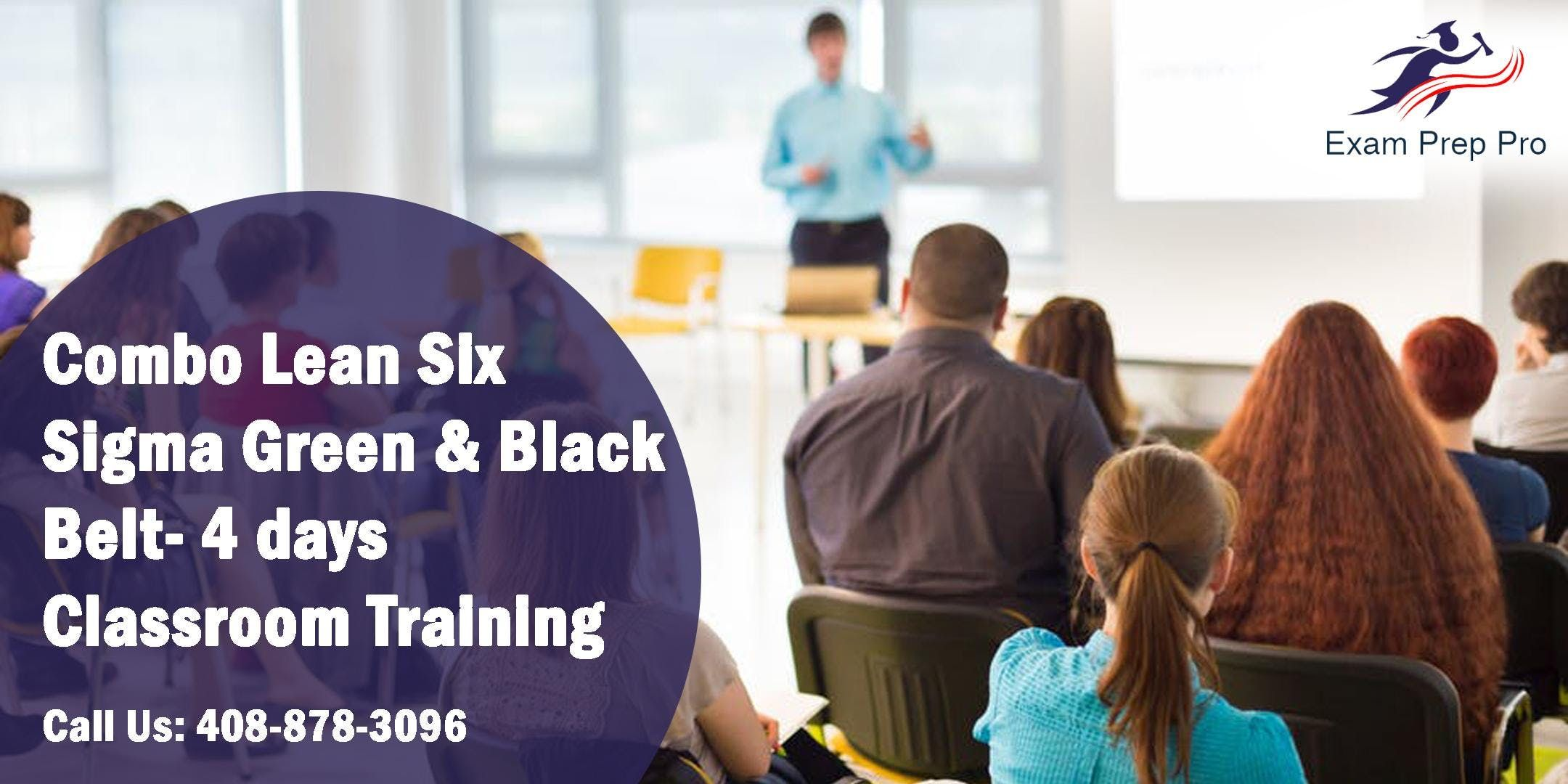 Combo Lean Six Sigma Green Belt and Black Belt- 4 days Classroom Training in BaltimoreMD