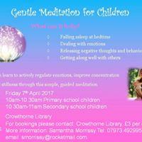 Gentle Meditation For Children