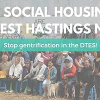 Protect the DTES Build 100% Social Housing at 58WHastings