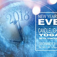 New Years Eve Candlelight Yoga with Vincent