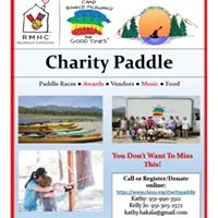 2017 - Camp Ronald McDonald for Good Times- Fundraiser Paddle