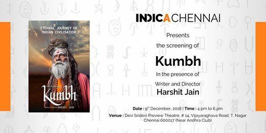 Indica Chennai Presents The Screening of Kumbh