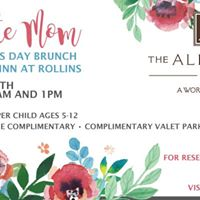 Celebrate Mom with a Mothers Day Brunch