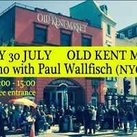 Paul Wallfisch (NYCSwans) on piano live in Margate Kent