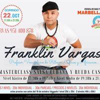 MasterClass Salsa Cubana y Rueda casino con Franklin Vargas