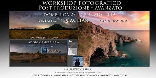 Workshop post produzione Fotografica