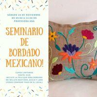 Seminario de bordado mexicano