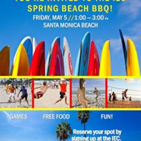 Spring Beach BBQ for International Students