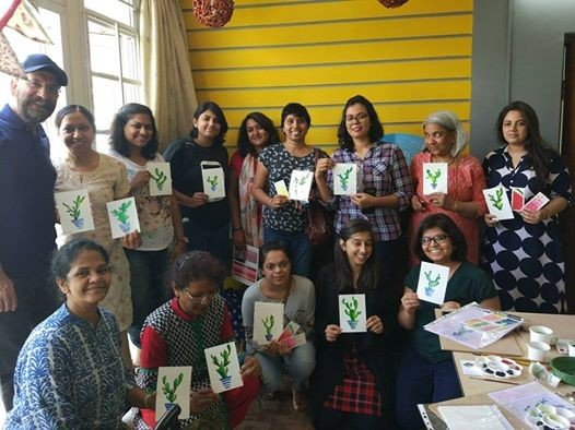 Minimalistic water color -Beginner workshop in Bangalore
