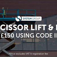 IPAF Scissor Lift &amp Boom