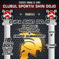 Cupa Shin Dojo Editia V - K1 &amp Semi Kempo &amp Submission Kempo
