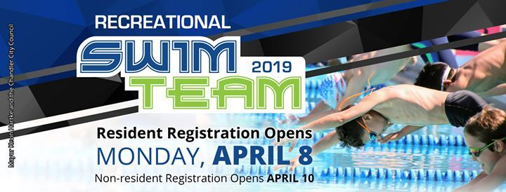 Swim Team - Resident Registration Open