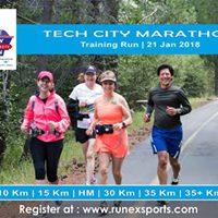 Training Run - Tech City Marathon