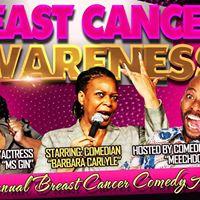 4th Annual BREAST CANCER Comedy Affair