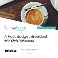 A Post Budget Breakfast with Chris Richardson